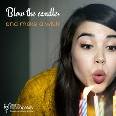 It's your birthday... It's your special day! http://www.fnp.ae/ #fernsnpetalsUAE #birthday #makeawish