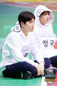 Suho and Jungkook Exo Bts, Kpop Exo, Bts And Exo, Exo Chanyeol, Kyungsoo, Bts Jungkook, K Pop, All Bts Members, Xiuchen