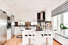 Scandinavian kitchen design.