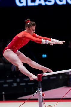Ruby Harrold (Great Britain) - 2015 World Championships: Uneven Bars Final