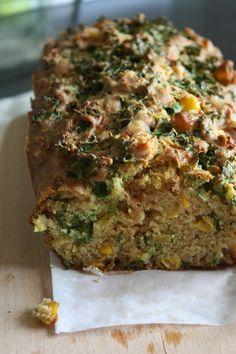 Cake chou kale et calzone poireaux patate douce