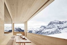 Ski Lodge Wolf / Bernardo Bader Architects