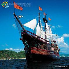 Has paseado en el Marigalante? Manda tu  Más: http://www.puertovallarta.net/espanol/que-hacer/diez-mejores-tours-de-puerto-vallarta.php?utm_content=bufferc6e5b&utm_medium=social&utm_source=pinterest.com&utm_campaign=buffer  Sailed w. the Pirates in #PuertoVallarta ? http://www.puertovallarta.net/what_to_do/top-ten-tours-in-puerto-vallarta.php?utm_content=buffer5fbb7&utm_medium=social&utm_source=pinterest.com&utm_campaign=buffer
