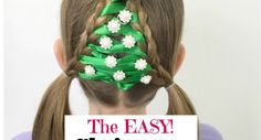 The Easiest Christmas Tree Braid Ever Christmas Crafts, Christmas Tree, Christmas Ornaments, Tree Braids, Christian Wife, Christmas Hairstyles, Little Christmas, Christmas Inspiration, Cute Hairstyles