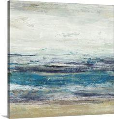 Art Print: Indigo Horizon I by Studio W : Framed Artwork, Wall Art Prints, Framed Prints, Poster Prints, Canvas Prints, Big Canvas, Frames For Canvas Paintings, Affordable Wall Art, Modern Coastal