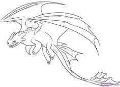 dreamworks dragons coloring pictures how to draw night fury toothless