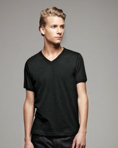 Crewnecks are nice, but this V-neck makes a sleek alternative statement.   Canvas - Unisex Short Sleeve V-Neck Jersey T-Shirt - only $5.62   #clothingshoponline #clothing #shop #designer #brands #discount #apparel