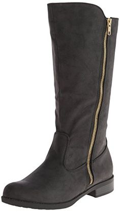 Qupid Women's Turner-17 Riding Boot,Black Distress Nubuck Polyurethane,5.5 M US Qupid http://www.amazon.com/dp/B00JRU8GXW/ref=cm_sw_r_pi_dp_1yWYub0V61082