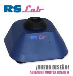 Nuevo agitador vórtex RSLAB-6 cuenta con un díselo compacto y reducidas dimensiones, ideal para agitar pequeñas muestras. Funcionamiento por presión sobre el cabezal.  Funcionamiento discontinuo por contacto, Soporte estándar incluido, Robusto, buena estabilidad, Rueda excéntrica con rodamientos, Movimiento orbital (4.8 mm), Velocidad fija 3000 rpm, Protección IP21, Dimensiones 134x134x70.5 mm, Alimentación: 100-240/50-60Hz.