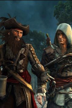 AC4: Black Flag - Blackbeard and Kenway