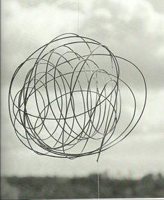 Georges Vantongerloo, Révolution, 1946, fil de fer
