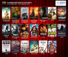 Check out the latest in Films at Don't miss your movie! Pvr Cinemas, The Revenant, Latest Movies, Deadpool Videos, Mall, Egypt, Films, Baseball Cards, Check