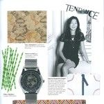 PLUME VOYAGE and Capsule de Plume in Maison Française Magazine (France).