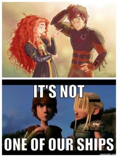 Haha, this is too perfect! Merricup isn't one of my ships! The way Astrid is looking at him completes everything!!!