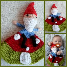 Ravelry: Gnome on his Mushroom Lovey pattern by A la Sascha