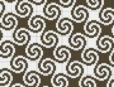 """patterns and stitches"" -   Mönster, Stickning och Kuddar"