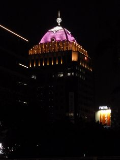 We light up Farglory Financial Center in Taiwan in pink | Breast Cancer Awareness 2013
