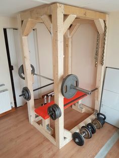 DIY Squat / Bench Rack