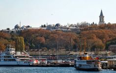 Topkapı Palace From Galata Bridge, Istanbul #Turkey