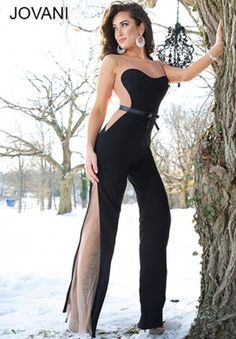 Sexy Pant Suit 2014 Jovani Prom Dress 94406 | Jovani Dresses