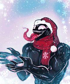 So hecking adorable Venom Comics, Marvel Venom, Disney Marvel, Marvel Dc Comics, Marvel Avengers, Marvel Characters, Marvel Movies, Eddie Brock Venom, Venom Art