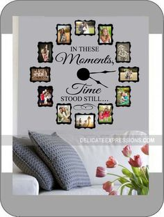 In These Moments Time Stood Still  FAMILY by StoneCreekWallDecals