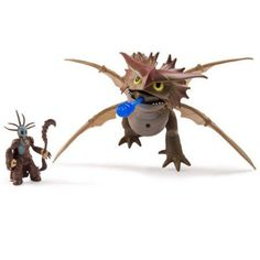 DreamWorks Dragons Deluxe Dragon Riders Figures, Valka and Cloudjumper, Multicolor