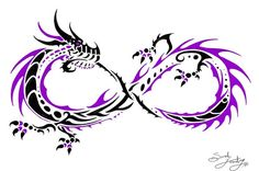 Dragon infinity tattoo