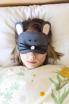 DIY: cute sleeping mask