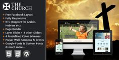 The Church - Responsive WordPress Theme Download