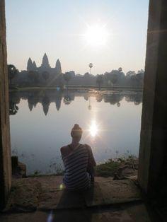 Angkor Wat Temple (អង្គរវត្ត) in Angkor, Siem Reap travelwithlamb.com