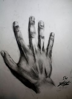 Charcoal art drawings charcoal drawing of my hand by joshfjames traditional Life Drawing, Drawing Sketches, Painting & Drawing, Drawing Hands, Drawing Tips, Drawings Of Hands, Sketching, Manga Drawing, Drawing Ideas