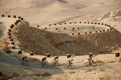 Challenge yourself and go ride in the Negev desert!