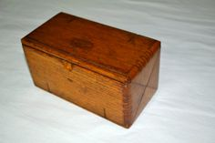 Antique Oak Puzzle Box Sewing Attachments by honeybeepollen, $55.00