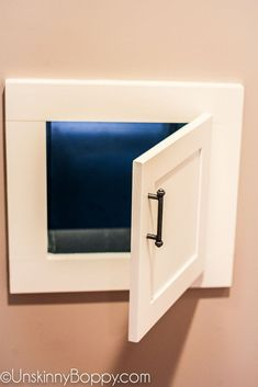 How to add a Laundry Chute to your home - Unskinny Boppy Basement Laundry, Basement Bathroom, Bathroom Wall, Bathroom Ideas, Laundry Rooms, Basement Shelving, Upstairs Hallway, Bathroom Laundry, Laundry Closet