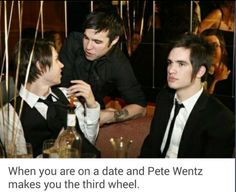 lol ryden and pete wentz panic! at the disco