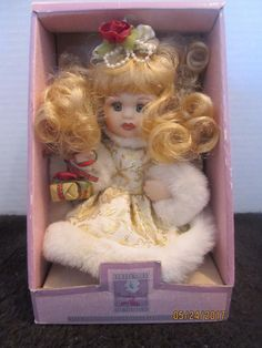 "COLLECTIBLE MEMORY DOLL 6 1/2"" TALL -  FINE PORCELAIN"