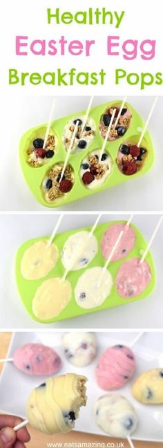 Healthy Easter Egg Breakfast Popsicles Recipe - 19 Traditionally Decorated Easter Desserts to Unwrap the Season