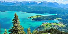 Walchensee, Bavaria, Germany