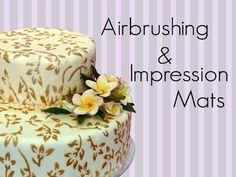 AIRBRUSHING CAKES FOR BEGINNERS & GRAFFITI POP ART - AIRBRUSHING ON ROYAL ICING CAKE DECORATING - YouTube