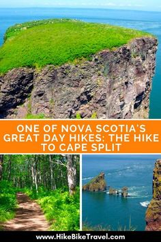 One of Nova Scotia's Great day hikes: the hike to Cape Split - easily done as a day trip from Wolfville or Halifax East Coast Travel, East Coast Road Trip, Montezuma, Monteverde, Nova Scotia Travel, Stockholm, Costa Rica, North Carolina, Canadian Travel