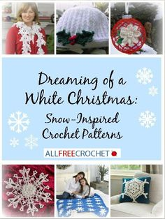 A collection of perfect patterns for winter! Snow Inspired Patterns
