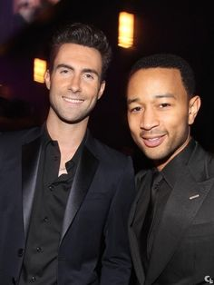 Adam Levine & John Legend