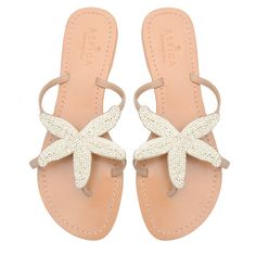 Starfish White Sandal I really want these!