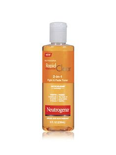 Neutrogena Rapid Clear Fight & Fade Toner is the first acne toner designed to reduce breakouts in just hours, plus fade the look of post-acne marks for clearer, more even-toned skin. Serum, Best Acne Products, Beauty Products, Facial Products, Skin Products, Salicylic Acid Acne, Scar Treatment, Skin Treatments, Acne Marks