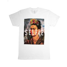We've got the first hipster selfie at NYLONshop: http://shop.nylonmag.com/collections/whats-new/products/frida-s-selfie-tee