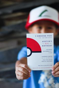 This pokemon party invitation is lovely! - See more darling pokemon ideas on B. Lovely Events!