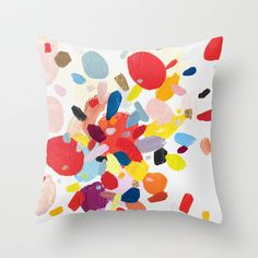 Color Study No. 2 Throw Pillow via Society6