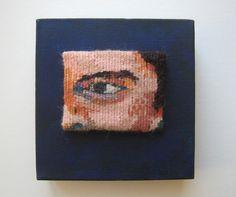 "Ruth Manning, ""Donut Man"" (2016), 6"" x 6"""