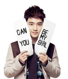 EXO's D.O. (디오) wants to know...